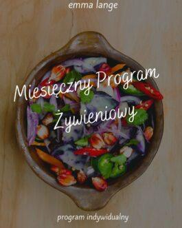 Miesięczny Program Żywieniowy
